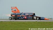 Bloodhound 1,000mph supersonic racing car (picture-alliance/B. Birchall)