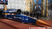 British Bloodhound SSC Car