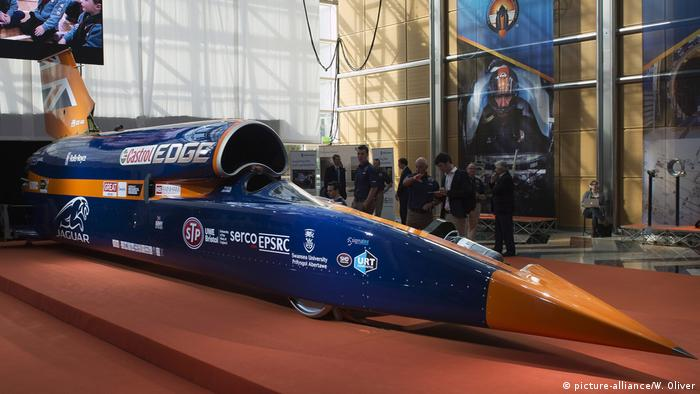 Bloodhound car project prepares to smash land speed record