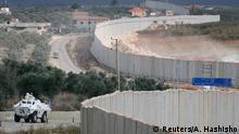 Libanon UNIFIL an der Grenze zu Israel