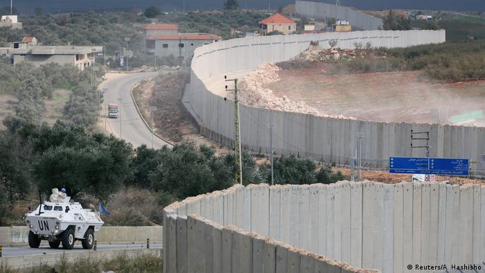 الحدود بين لبنان وإسرائيل