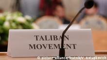 Russland Vertreter der Taliban in Moskau