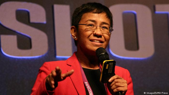Maria Ressa (Imago/ZUMA Press)