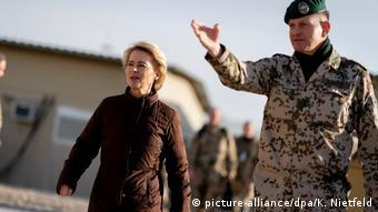 German Defense Minister Ursula von der Leyen in Mazar-i-Sharif