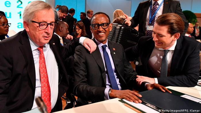 Österreich EU-Afrika-Forum in Wien (Getty Images/AFP/J. Klamar)