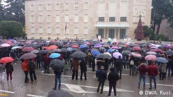 Τρίτη εβδομάδα δυναμικών φοιτητικών διαδηλώσεων στην Αλβανία