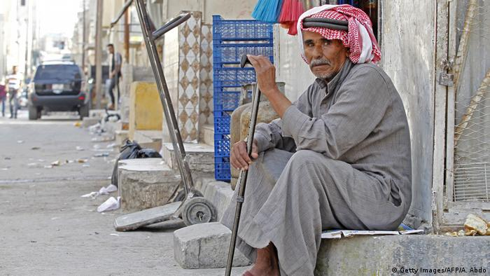 Jordanien Palästinensischer Flüchtling (Getty Images/AFP/A. Abdo)