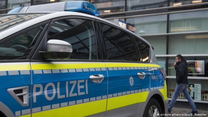 Police car in Hesse