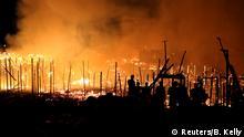 Brasilien Großbrand in Manaus