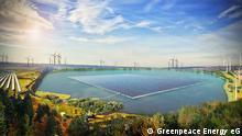 Simulation von erneuerbaren Energien im rheinischen Braunkohletagebau