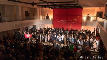 Le 21ème concert Mélodie de la Vie a réuni sur scène des élèves et musiciens d'Allemagne et de Tunisie