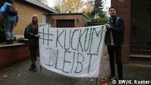 Deutschland Tagebau Hambach | Protest gegen Braunkohle in Kuckum und Keyenberg