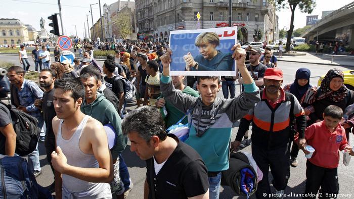 بحسب نتائج الاستطلاع فإن أزمة كورونا قد تسهم في انقسام المجتمع الألماني بأكثر مما فعلت أزمة اللاجئين (أرشيف)