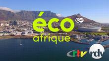 DW Eco Africa (Eco Afrique Sendungslogo mit Partnerlogos französisch)