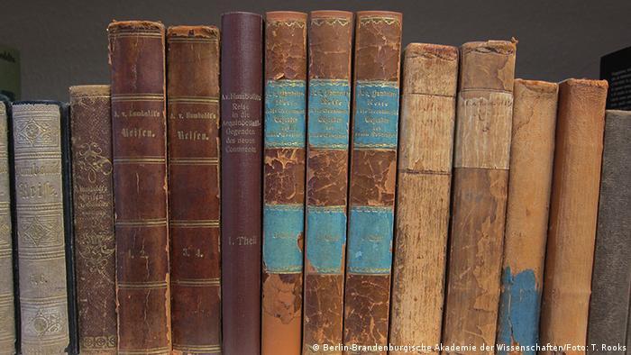 Kopien von Humboldts Kosmos an der Berlin-Brandenburgische Akademie der Wissenschaften