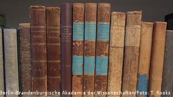 Alexander von Humboldt Büchersammlung in der Bibliothek der Berlin-Brandenburgischen Akademie der Wissenschaften (Berlin-Brandenburgische Akademie der Wissenschaften/Foto: T. Rooks)