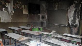 Iran, Brand in einer Schule (Tasnim)