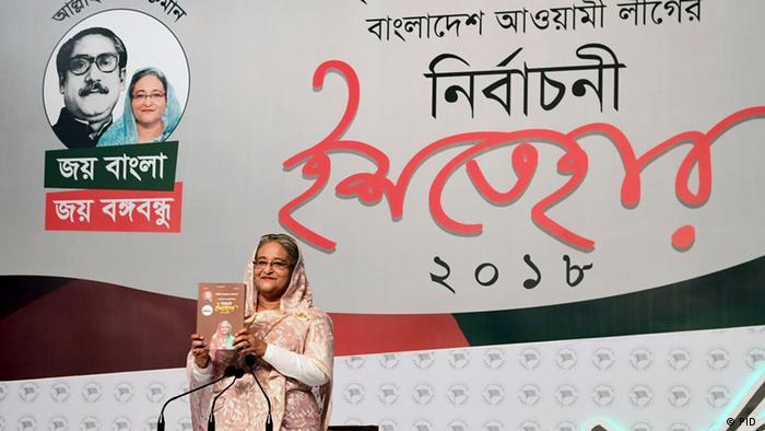 Bangladesh Wahl Sheikh Hasina