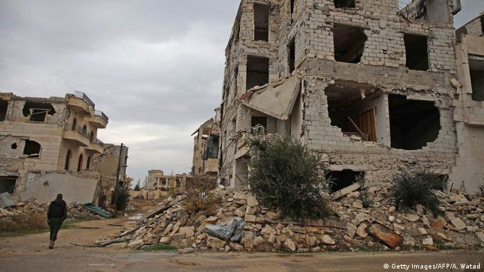 Syrien Krieg | Zerstörung in Aleppo