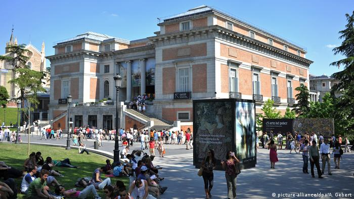 Outside view of the Prado (picture-alliance/dpa/A. Gebert)