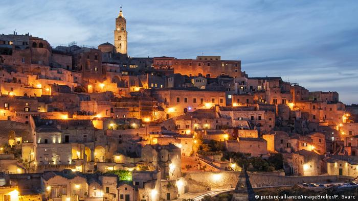 Печерне місто італійської Матери належить до світової спадщини ЮНЕСКО