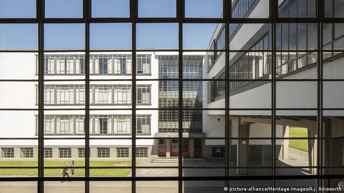 Deutschland Bauhaus Gebäude in Dessau