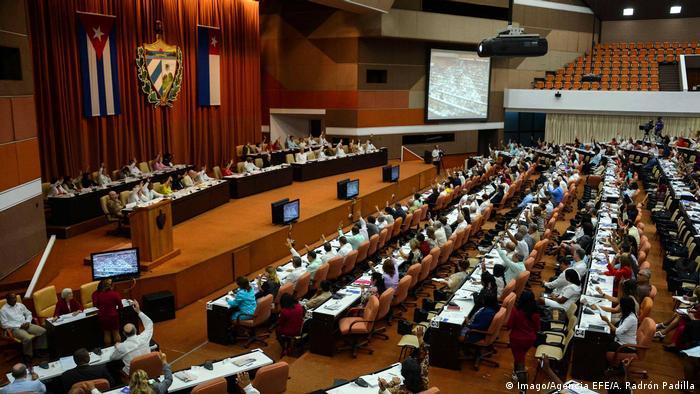 Kuba Parlament in Havanna (Imago/Agencia EFE/A. Padrón Padilla)