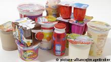 Milchshakes Fruchtjoghurt Kinderjoghurt