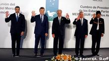 Uruguay Mercosur-Gipfeltreffen in Montevideo