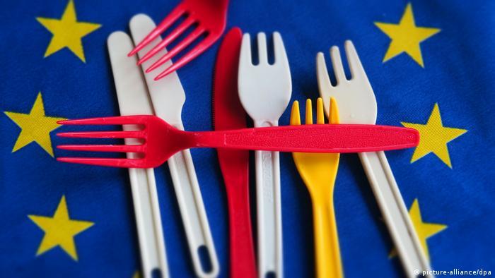 Symbolbild Verbot Plastikgeschirr in der EU