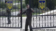 Ukraine Sewastopol Stützpunkt Belbek