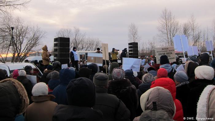 Протесты в Северодвинске