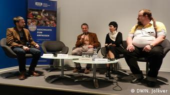 Участники конференции в Берлине, где был представлен доклад правозащитников