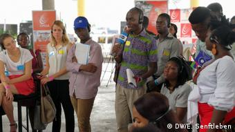DW Akademie event in Accra, Ghana