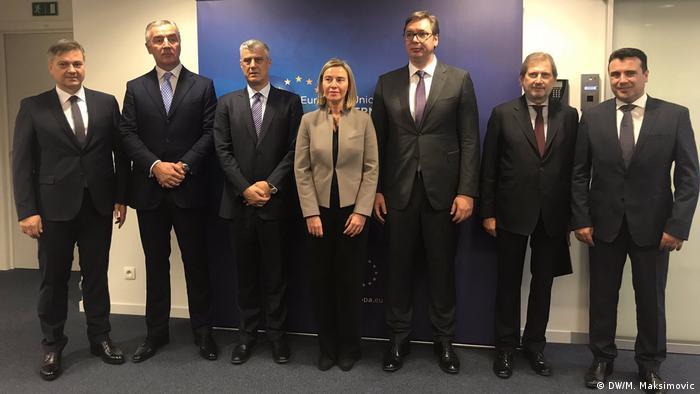 EU Westbalkan Treffen