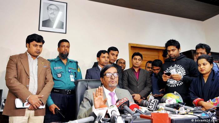 Bangladesch Wahlkommissar Mahbub Talukdar