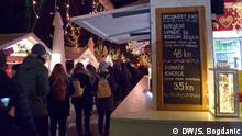Kroatien Weihnachtsmarkt in Zagreb