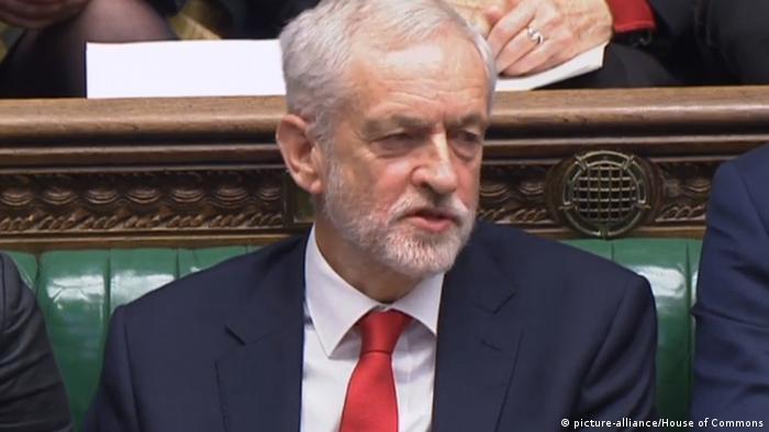 England, Parlament - Brexit Diskussion - Jeremy Corbyn