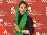 Hana Makhmalbaf en el  66 Festival Cinematográfico de Venecia: