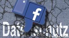 Facebook - Datenschutz - Symbolbild