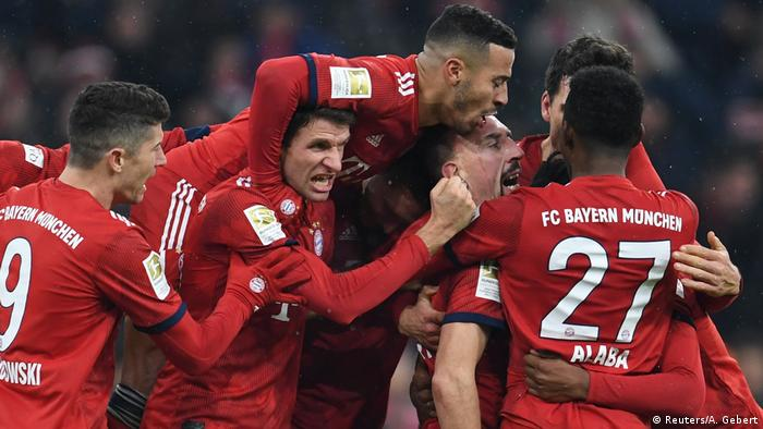 Fußball Bundesliga - FC Bayern München - RB Leipzig (Reuters/A. Gebert)