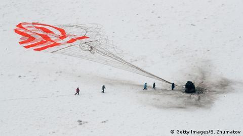 Landung Alexander Gerst ISS
