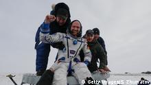 Alexander Gerst Landung ISS
