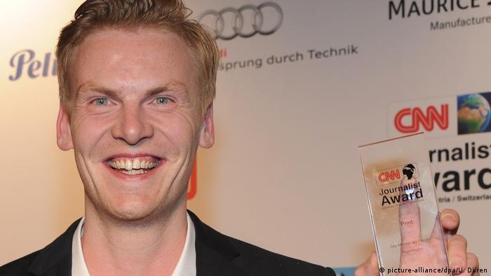 Journalist Claas Relotius CNN Award