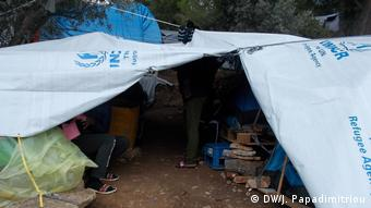 Griechenland Samos - Gestrandete Flüchtlinge aus Afrika (DW/J. Papadimitriou)