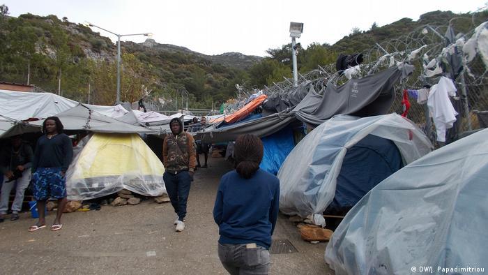 Griechenland Samos - Gestrandete Flüchtlinge aus Afrika