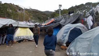 Εγκλωβισμένοι πρόσφυγες από την Αφρική στη Σάμο