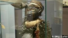 Portugal Lissabon - Statue Nkisi Nkondi aus Angola und dem Congo