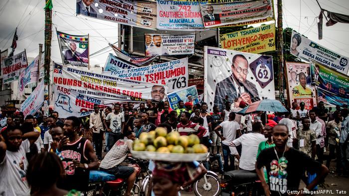 Demokratische Republik Kongo - Wahl (Getty Images/AFP/L. Tato)