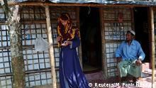Geflüchtete Rohingya Formin Akter